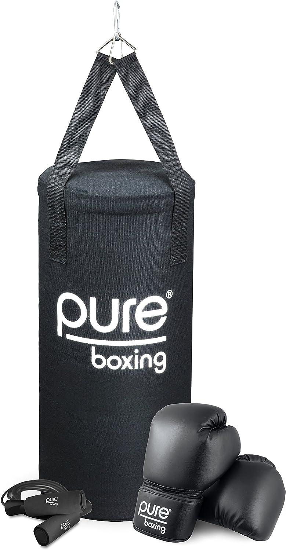 Pure Boxing 25 lb Heavy Bag Set for Kids
