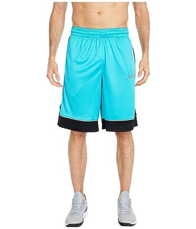 Nike Shorts Fastbreak (Oracle Aqua/Black/Team Orange) Men