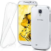 MoEx® Funda [Transparente] Compatible con Samsung Galaxy S4 Mini | Ultrafina y Antideslizante - Transparent