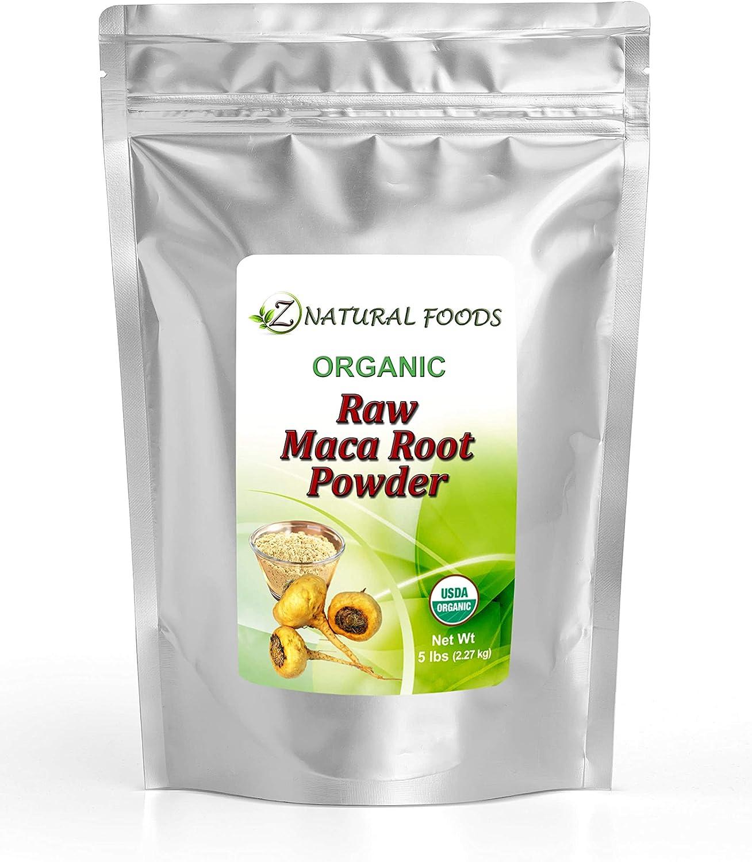 Albuquerque Mall Organic Maca Ranking TOP2 Root Powder - Bulk Adaptogen Size lb Superfood 5