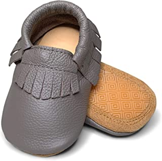 hard sole moccasins for toddlers