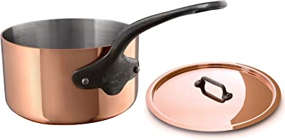 Mauviel M'Heritage Copper Saucepan - The Best French Copper Cookware