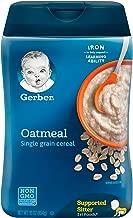 Best gerber oatmeal cereal single grain 16 oz Reviews