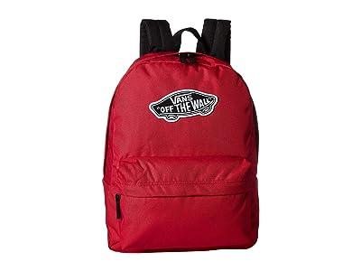 Vans Realm Backpack (Cerise) Backpack Bags