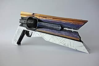 Designed By Sunshot Hand Cannon Prop Free Destiny Banner, has Moving Ammo, Plastic Light and Durable. Safe, Does not Shoot
