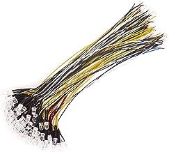 DEDC Ultra Heldere 12v Pre Bedrade LEIDENE Diodes Licht, Gemakkelijke Kleurgecodeerde Pre-Wired LEIDENE Lichten - (6 Kleuren)