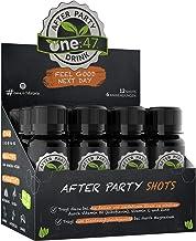 one:47  After Party Drink   12 Shots   Feel good next day   Natürlich Feiern, natürlich fit   Die originale geschützte one 47 Formel