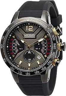ساعة اليد جينتس من ميجر - MN2106G-BK-1N3A