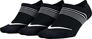 NIKE, 3ppk Women Lightweight Train Pack 3 Pares Calcetines, Mujer