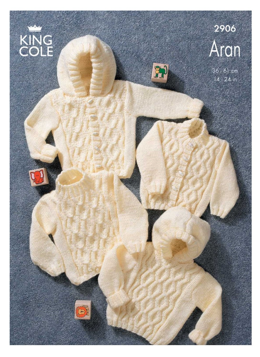 Easy Knit Baby Cocoon Sheep Blanket Knitting Pattern King Cole Yummy Chunky 4534