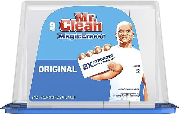 Mr Clean Magic Eraser Original Cleaning Pads With Durafoam 9 Count
