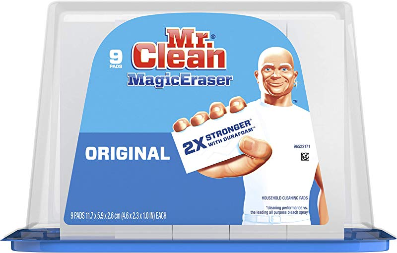 Mr Clean Magic Eraser Original Cleaning Pads With Durafoam 9 Count