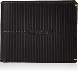 Calvin Klein Men's Textured Slimfold Wallet