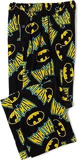 Briefly Stated Men's Batman Logo Fleece Pant