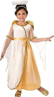 Forum Novelties Girl Golden Angel Costume, Medium, One Color