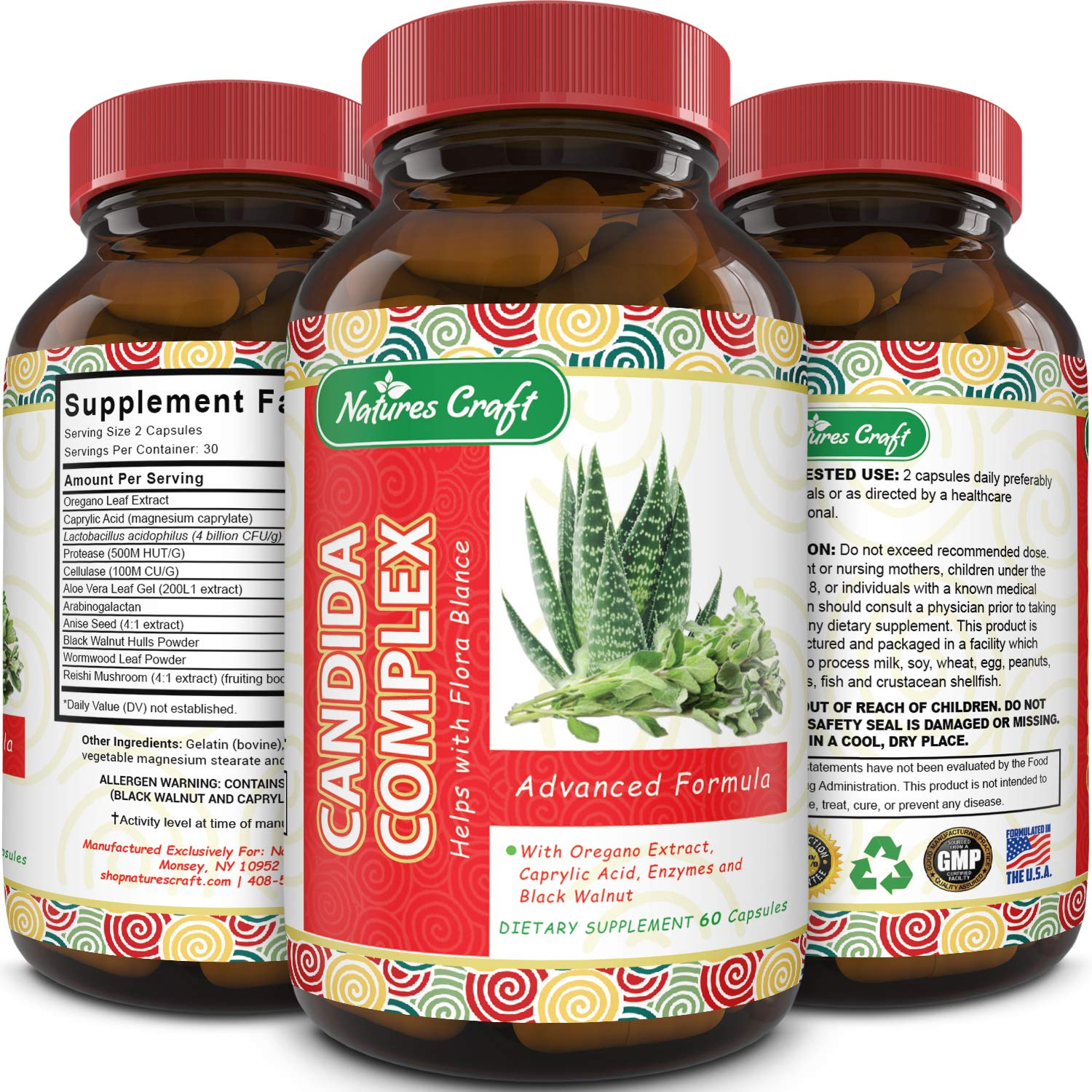 Natural Candida Cleanse Supplement California