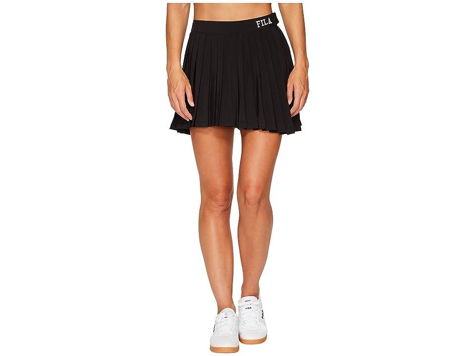 Fila Lauryn Tennis Skirt (Black) Women