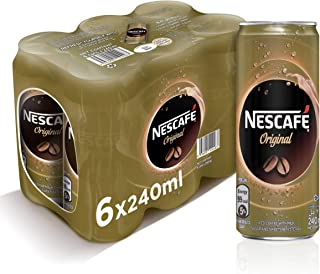 Nescafe Ready To Drink Original Chilled Coffee Can 240ml (6 Cans) – Promo Pack