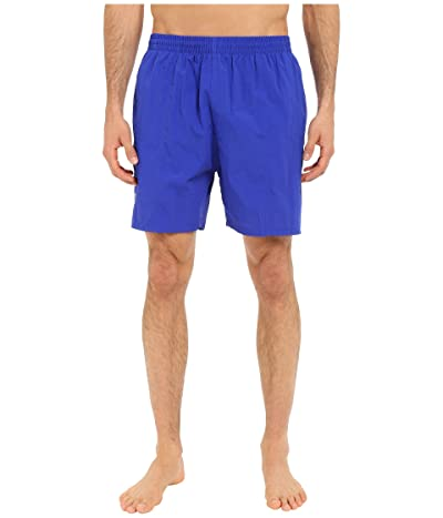 TYR Classic Deck Swim Shorts (Royal) Men