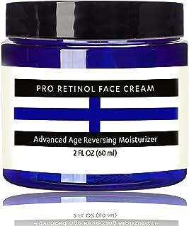 Raw Biology's Retinol Face Cream Moisturizer VOTED BEST Anti Aging Daytime and Nighttime Resurfacing Eye & Face Cream
