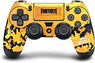 Dreamcontroller PS4 One Modded Controller (16 Modes) - Customized Design with Anti-Slip Soft Grip - Great for Gaming Competitions and Tournaments - Bluetooth for Windows 10 PC(Modded, Yellow)