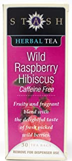 Stash Wild Raspberry Herbal Tea (Box of 30)