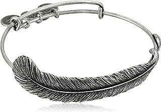 Alex and Ani Spiritual Armor Plume Bangle Bracelet