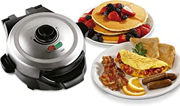 Hamilton Beach Breakfast Multicooker & Waffle Maker, Removable Waffle and Skillet Cooking Plates, Durathon Coating 5X More...