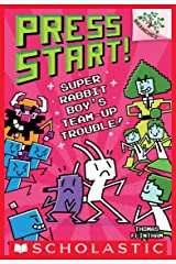 Super Rabbit Boy's Team-Up Trouble!: A Branches Book (Press Start! #10) Kindle Edition