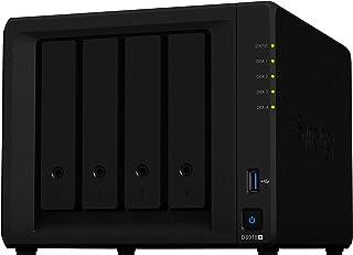 Synology DS918+ NAS Escritorio Ethernet Negro - Unidad RAID (24000 GB, Unidad de disco duro, Unidad de disco duro, SSD, M....