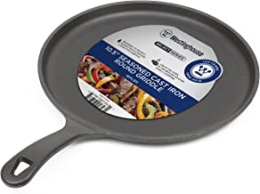 Westinghouse WFL911 Select Series Seasoned Cast Iron 10 1/2 Inch Round Griddle