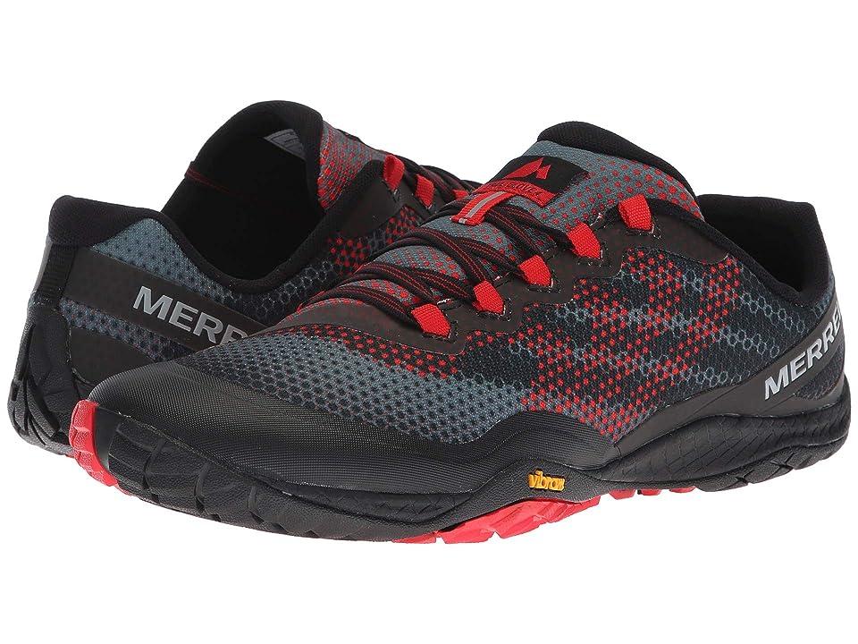Merrell Trail Glove 4 Shield (Black/Red) Men