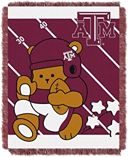 THE NORTHWEST COMPANY Texas A&M Aggies Fullback Baby Triple Woven Jacquard Throw