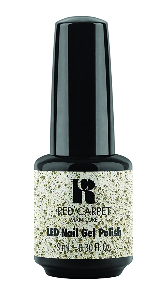 愛国的な誰か家事をするRed Carpet Manicure - LED Nail Gel Polish - Trendz - Hollywood Royalty - 0.3oz / 9ml