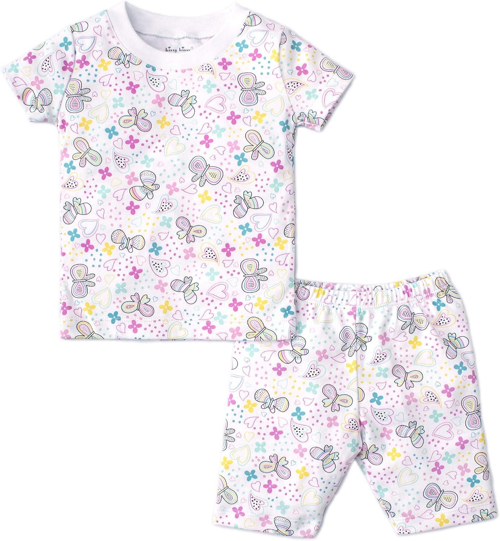 Kissy Kissy Baby-Girls Infant Summer Fun Print Short Pajamas Set