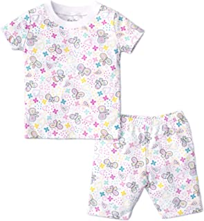 Kissy Kissy Baby Girls Pj Fall 18 Print Pajama Set Snow Flower