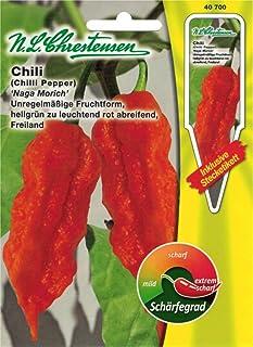 """Chrestensen Gewürzpaprika / Chili """"Naga Morich"""" Saatgut Samen"""
