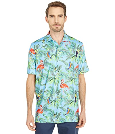 johnnie-O Wilde Printed PREP-FORMANCE Polo (Neptune) Men