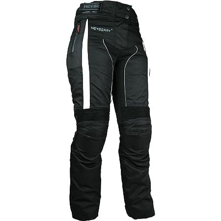 Dxr Motorradhose Damen Tour Textilhose 5 0 Motorradhose Damen Wasserdicht Winddicht Atmungsaktiv Thermofutter Weitenverstellbarer Bund Schwarz Xl Bekleidung