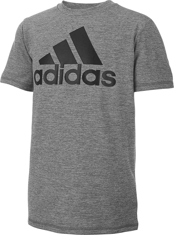 Amazon.com: adidas Stay Dry Moisture-Wicking Short Sleeve T-Shirt ...