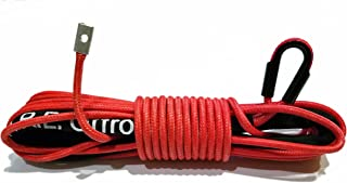 Arachni Recovery Equipment Synthetic Winch Rope Line Cable 7//16 x 100 30,000 LB Capacity W//Sheath BLACK 3 Year Warranty