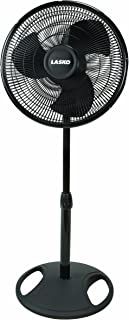 Lasko FBA 2521 Oscillating Stand Fan, 16-Inch, Black, 1-Pack, FFP