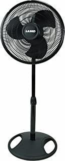 Lasko FBA 2521 Oscillating Stand Fan, 16-Inch, 1-Pack, Black FFP