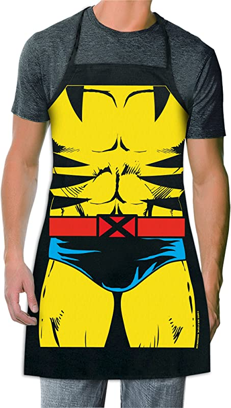 X Men Wolverine Marvel Be The Character Apron