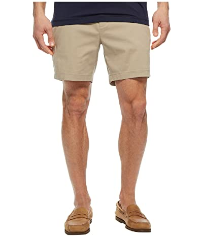 Nautica Stretch Twill Classic Fit Performance Deck Shorts (True Khaki) Men