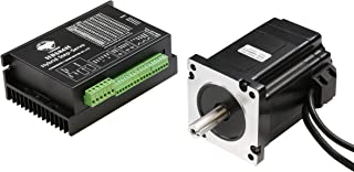 LS nema34 closed loop servo motor 9.0NM 6.0A with 3m cable& driver HBS86H 24-74VAC for CNC machine