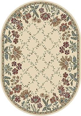 Amazon Com Rustic Lodge Pine Cone Border Brown 5x7 Area