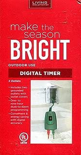 Best make the season bright digital timer Reviews