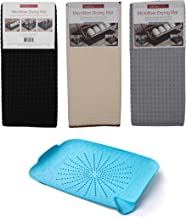 Store2508® Microfiber Reversible Dish Drying Mat (Pack of 3) (38 * 51 cm Each) + Free SinkStation