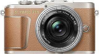 OLYMPUS ミラーレス一眼カメラ PEN E-PL9 レンズキット ブラウン